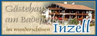 Appartements Inzell, G䳴ehaus am Badepark